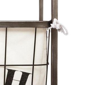 Meuble panier a linge blanc achat vente meuble panier for Meuble panier a linge