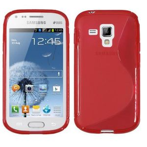 Coque TPU type S pour  Samsung Galaxy Trend Lit...