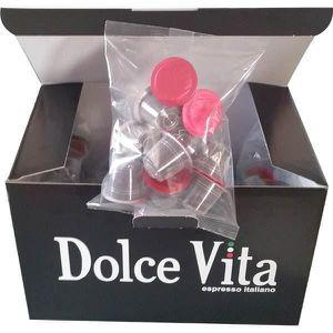 CAFÉ - CHICORÉE Dolce vita - pack de 100 capsules de café compatib