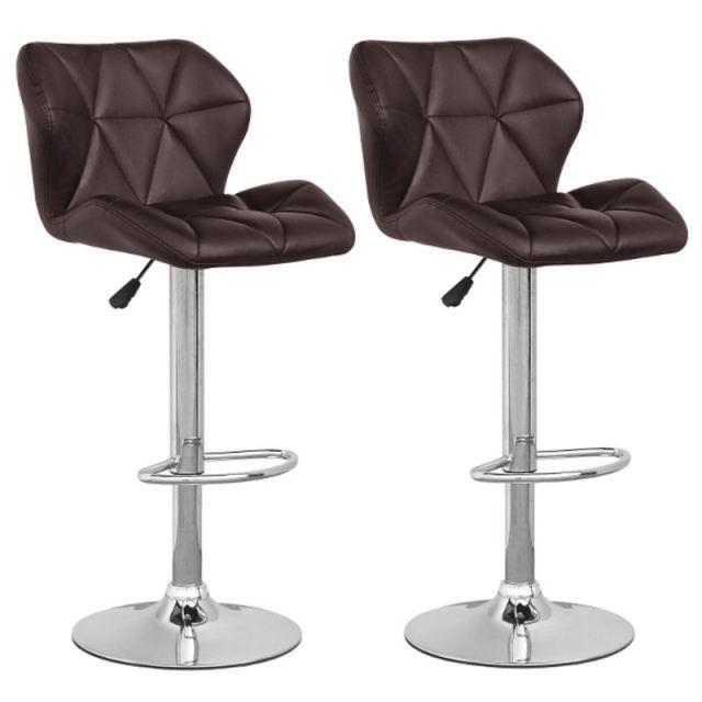 tabouret de bar marron. Black Bedroom Furniture Sets. Home Design Ideas