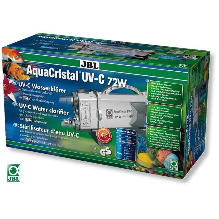 Jbl aquacristal uv c 72w filtre uv pour bassin achat vente filtration - Filtre bassin occasion ...