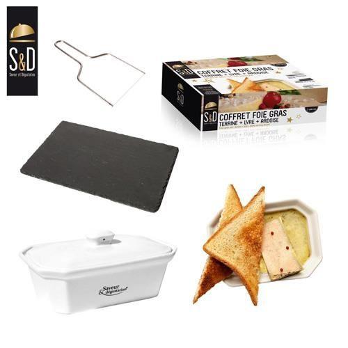 coffret foie gras achat vente plat de service cdiscount. Black Bedroom Furniture Sets. Home Design Ideas