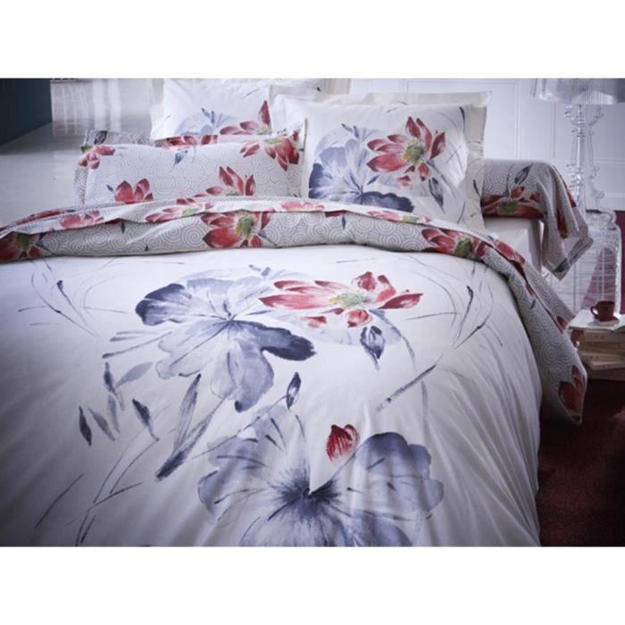 parure housse de couette serenite achat vente parure. Black Bedroom Furniture Sets. Home Design Ideas