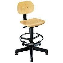 si ge d 39 atelier technic haut avec repose pieds achat vente chaise de bureau marron cdiscount. Black Bedroom Furniture Sets. Home Design Ideas