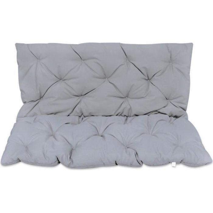 coussin pour balancelle de jardin achat vente coussin. Black Bedroom Furniture Sets. Home Design Ideas