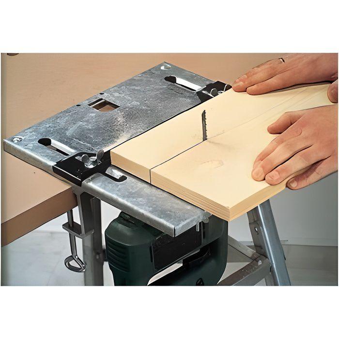 Table de scie sauteuse 320 x 300 mm Scie électriq Dimensions : (L x