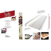 FEUILLE DE CUISSON  CUISY KB53701 Rouleau feuille de cuisson réutilisa