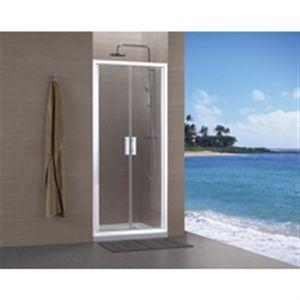 porte de douche a 2 battants achat vente porte de. Black Bedroom Furniture Sets. Home Design Ideas