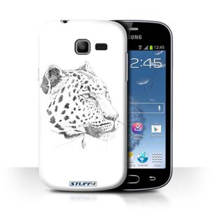 telephonie r coque samsung galaxy trend lite leopard
