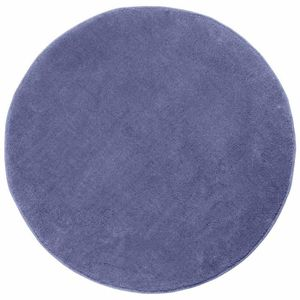 tapis tapis rond tuft coloris bleu 150 cm de diamt - Tapis Color Pas Cher