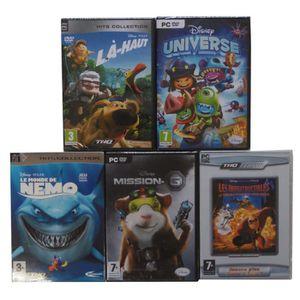 JEU PC Pack de 5 jeux Disney - Jeux PC