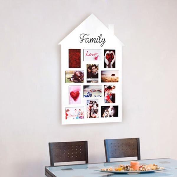 cadre p le m le famille achat vente cadre photo les soldes sur cdiscount cdiscount. Black Bedroom Furniture Sets. Home Design Ideas