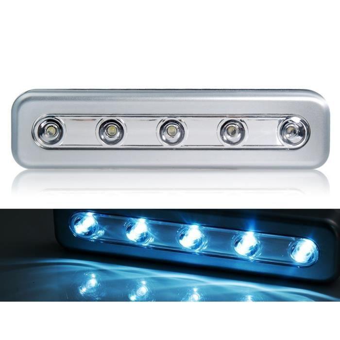 5 led interrupteur tactile hold up led poussez achat. Black Bedroom Furniture Sets. Home Design Ideas
