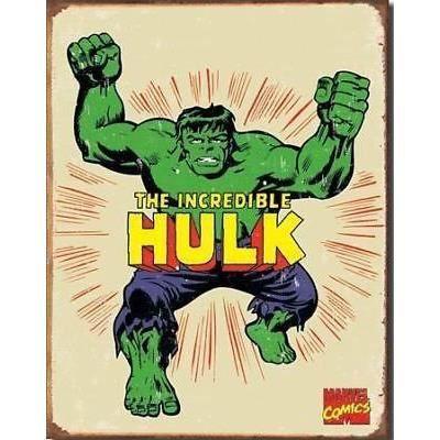 Plaque Publicitaire L Incroyable Hulk Super Hero D 233 Co