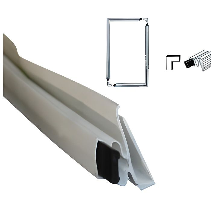 Joint universel pour refrigerateur ou congelateur set de for Porte douche accordeon