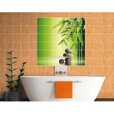Sticker carrelage mural faience d co cuisine achat for Achat faience