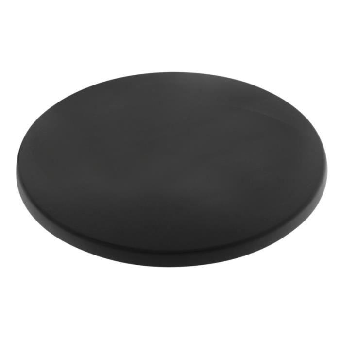 Plateau de table rond de 60 cm assortir coloris noir for Plateau de table rond 120 cm