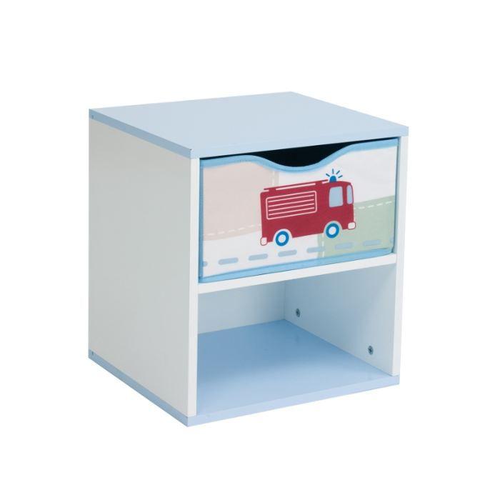 table de nuit gar on achat vente chevet table de nuit gar on cdiscount. Black Bedroom Furniture Sets. Home Design Ideas