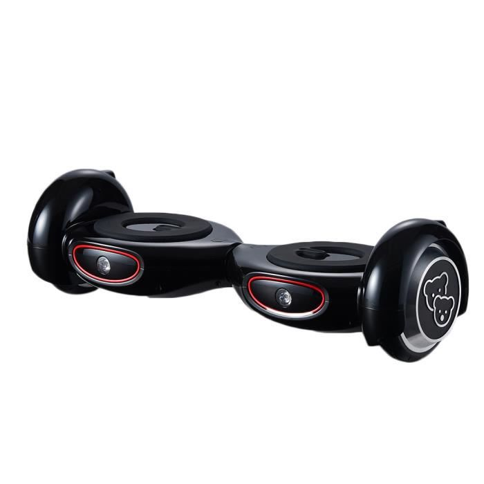 hoverboard gyropode skateboard 2 roues self balance scooter quilibre intelligent noir achat. Black Bedroom Furniture Sets. Home Design Ideas