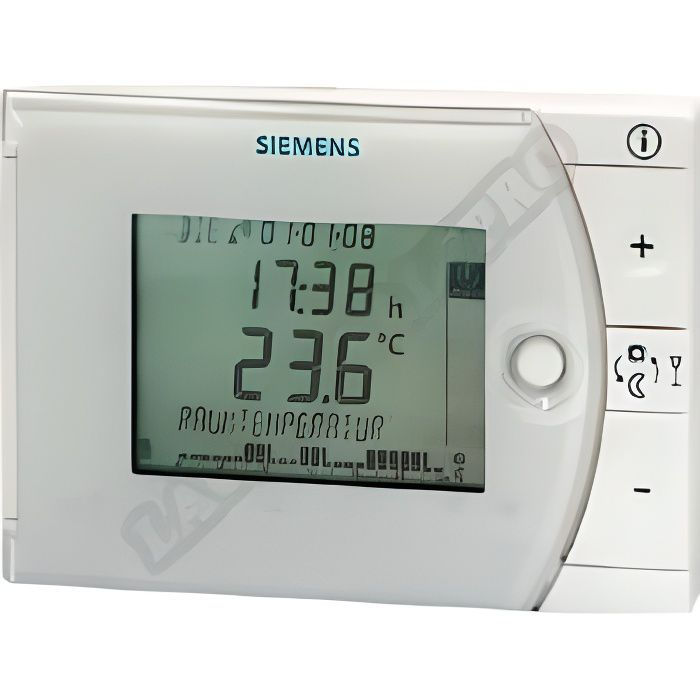 thermostat d 39 ambiance digital programmable hebdom achat vente thermostat d 39 ambiance cdiscount. Black Bedroom Furniture Sets. Home Design Ideas