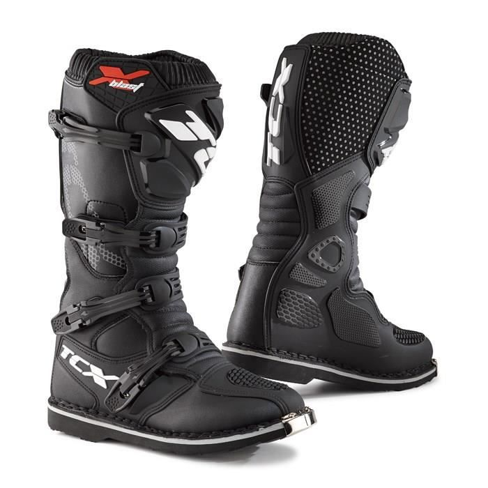 tcx bottes moto cross x blast noir achat vente. Black Bedroom Furniture Sets. Home Design Ideas