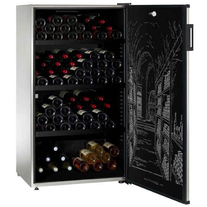 Climadiff clp370x cave vin polyvalente achat vente cave vin cdiscount - Cave a vin polyvalente ...