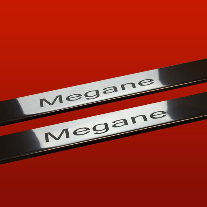 renault megane phase 1 coupe seuil de porte en acier inox qualite sup brillant 410245 achat