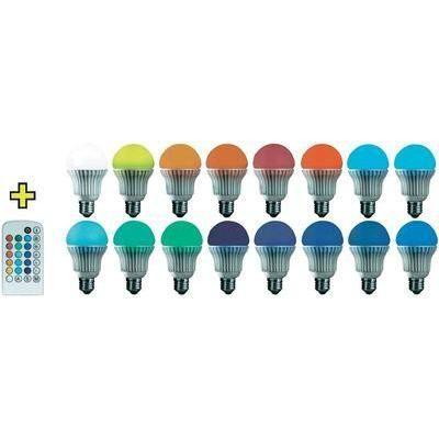 basetech ampoule led couleur changeante e27 3 7w achat vente basetech ampoule led couleur. Black Bedroom Furniture Sets. Home Design Ideas