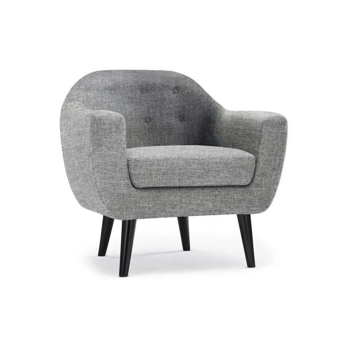 Fauteuil tissus gris meilleures images d 39 inspiration pour votre design - Fauteuil tissus gris ...