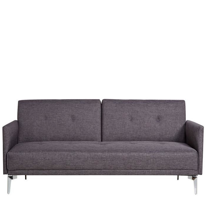 Canap convertible design 3 places mister smith couleur for Canape convertible contemporain design