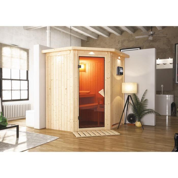 sauna karibu achat vente sauna karibu pas cher cdiscount. Black Bedroom Furniture Sets. Home Design Ideas