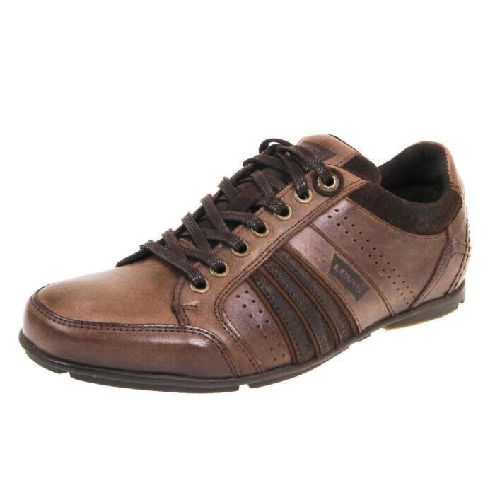 Baskets chaussure Firebaugh Brown Firebaugh Basses Levis Chaussure 1SCFxwqpF