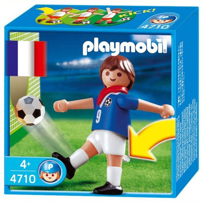 PLAYMOBIL 4733 Joueur Equipe France A  Achat / Vente univers miniature