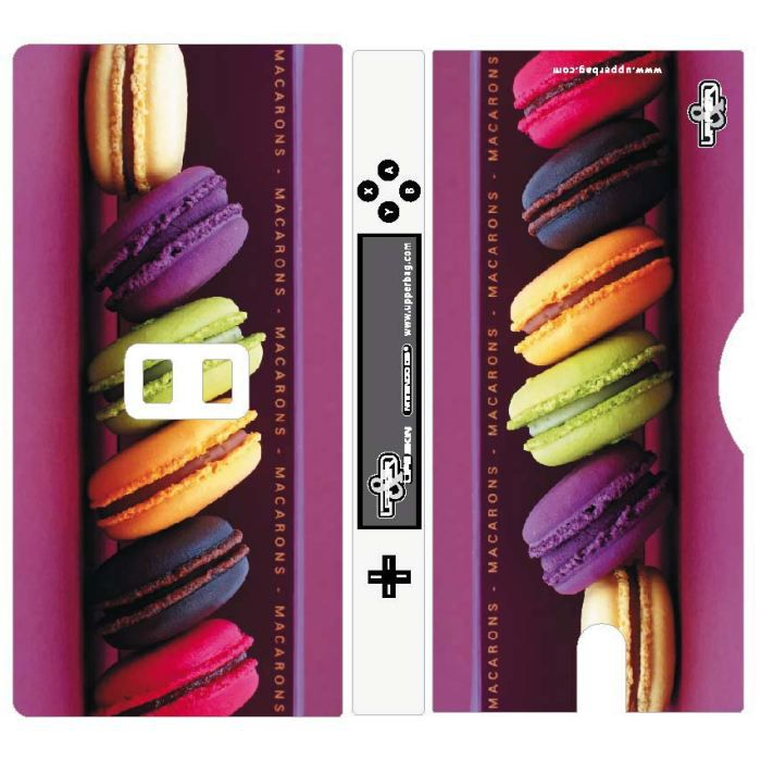 coque 3d nintendo ds lite sweety macarons 1 achat. Black Bedroom Furniture Sets. Home Design Ideas