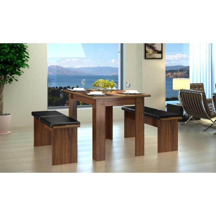 2 banc avec 1 table achat vente table de cuisine 2 banc avec 1 table cdiscount. Black Bedroom Furniture Sets. Home Design Ideas
