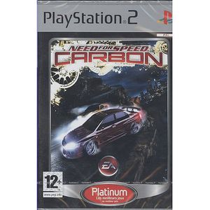 JEU PS2 NEED FOR SPEED CARBON / PS2 Platinum