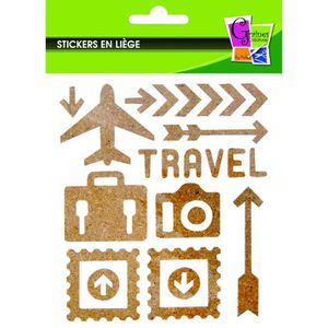 Stickers scrapbooking New York  2 planches 15 x 30 cm  Stickers voyage