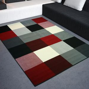 tapis carre noir achat vente tapis carre noir pas cher cdiscount. Black Bedroom Furniture Sets. Home Design Ideas