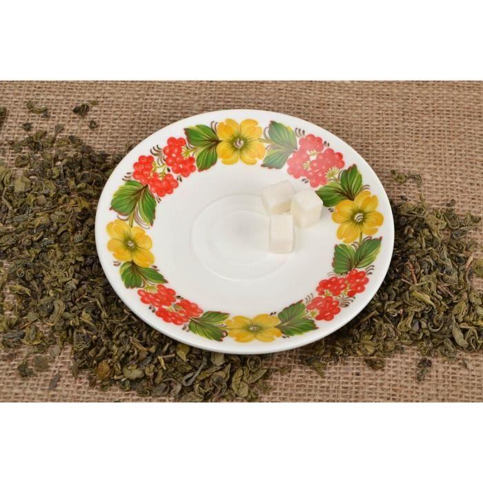 Soucoupe porcelaine service vaisselle petite assiette for Art de la table vaisselle