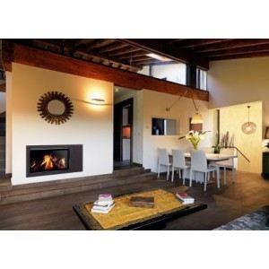 insert bois panoramique 800 achat vente po le. Black Bedroom Furniture Sets. Home Design Ideas