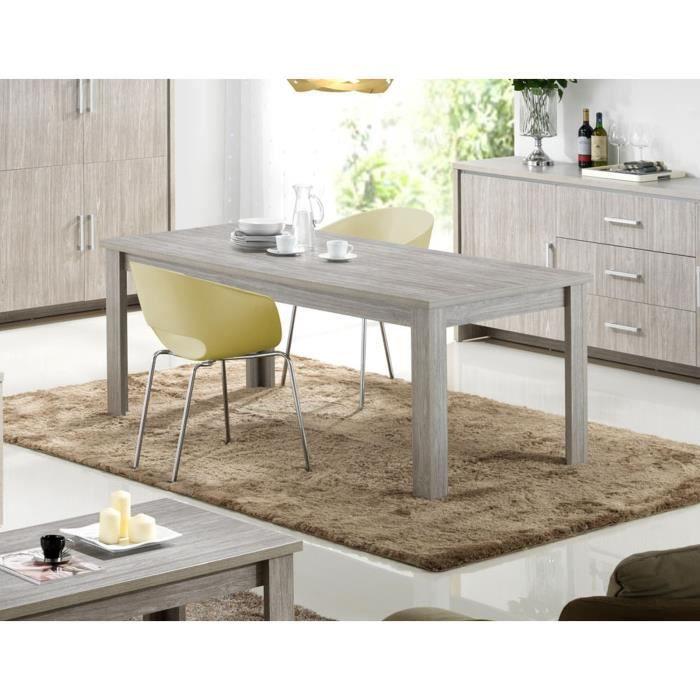 Table de salle manger capri table l 190 x p 90 x h for Salle a manger yannick one cap