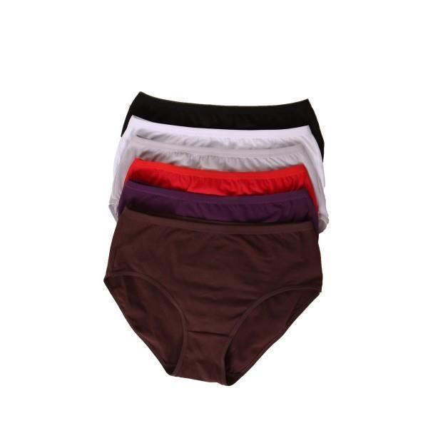 lot 6 culottes coton femme grande taille l xl xxl et xxxl 6296 achat vente culotte slip. Black Bedroom Furniture Sets. Home Design Ideas