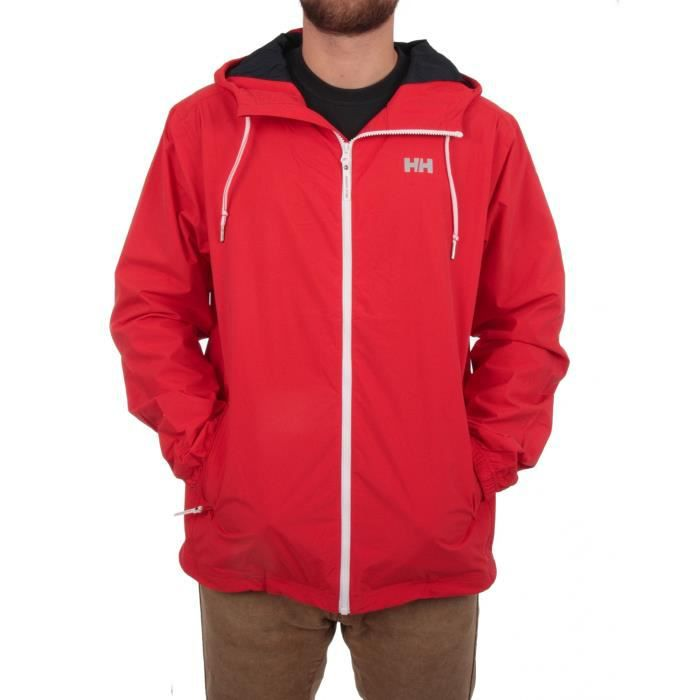helly hansen veste homme rainjacket rouge achat vente blouson de sport les soldes sur. Black Bedroom Furniture Sets. Home Design Ideas