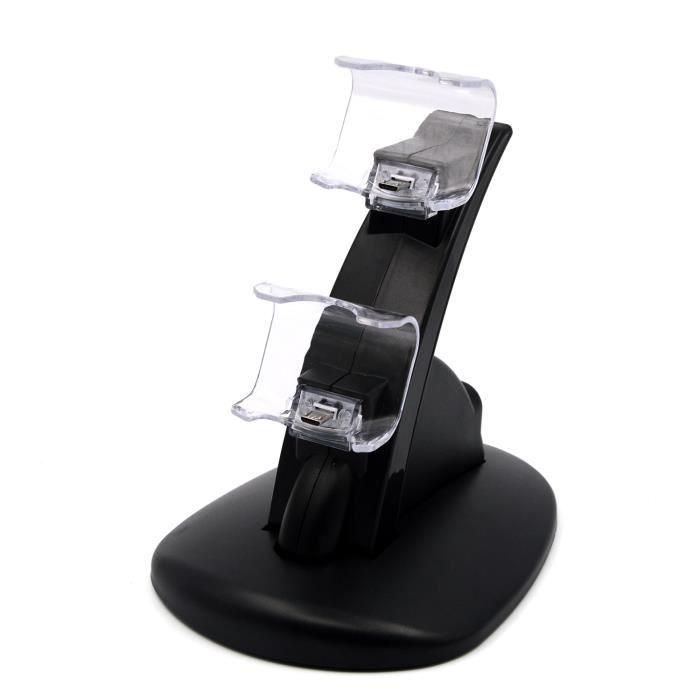 vococal chargeur pour manette ps4 playstation game console avec c ble prix pas cher cdiscount. Black Bedroom Furniture Sets. Home Design Ideas