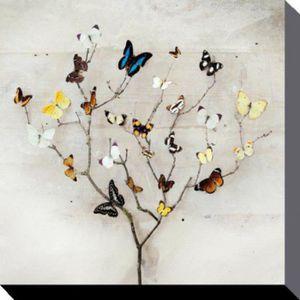 Toile papillon achat vente toile papillon pas cher for Poster sur toile