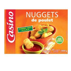 CASINO Nuggets de poulet 400g