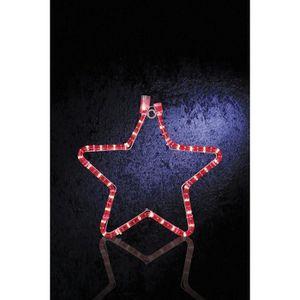Etoile lumineuse rouge achat vente etoile lumineuse - Etoile lumineuse exterieure noel ...