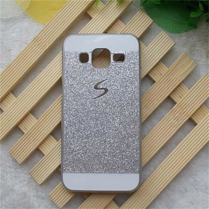 telephonie accessoires portable gsm coque pour samsung galaxy grand prime strass paill f  auc