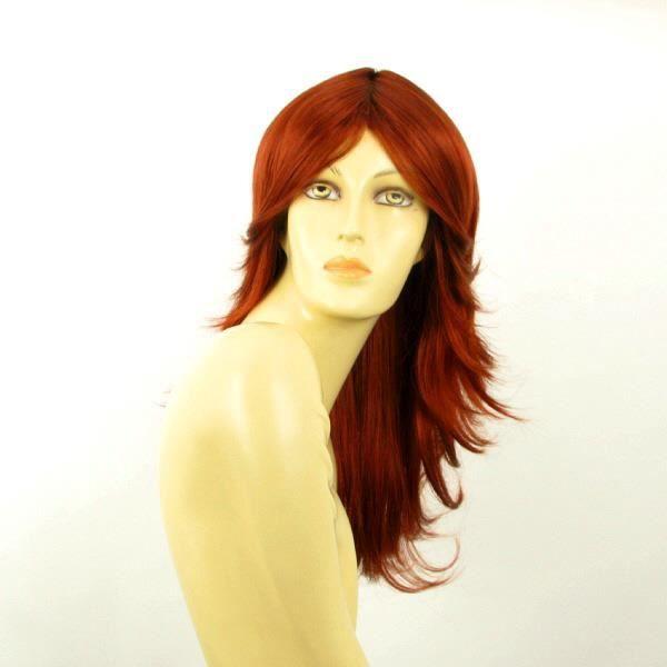 perruque femme longue rousse zoe 350 achat vente perruque postiche perruque femme longue. Black Bedroom Furniture Sets. Home Design Ideas
