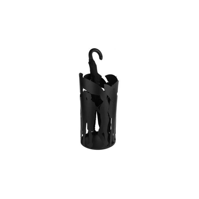 Porte parapluies family noir achat vente porte for Meuble porte parapluie